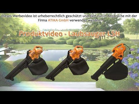ATIKA Produktfilm - Laubsauger / Laubbläser LSH