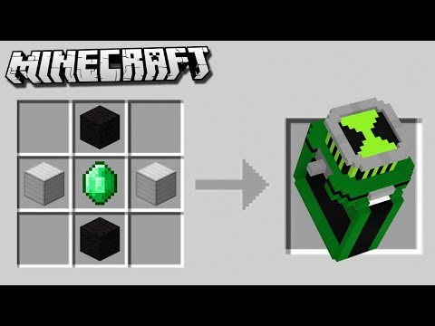 Crafting a DIAMOND BEN 10 OMNITRIX in Minecraft!