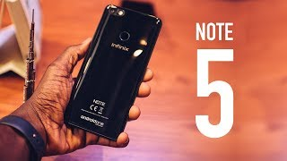 Infinix Note 5 Hands On & First Impressions in Dubai!
