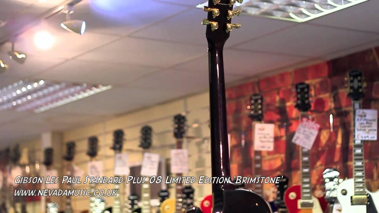Gibson Les Paul Standard Plus 08 Limited Edition Brimstone Quick Way Switch Neck Volume Bridge Tone Etc Here Agile Al3000 Guitar Look