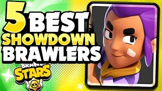Pro's Top 5 Best Brawlers In Showdown! - Pro Brawler Rankings! - Brawl Stars!