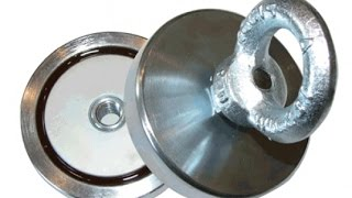 тест поискового неодимового магнита на 400 кг 2часть(тест испытание поискового неодимового магнита., 2015-03-19T22:31:59.000Z)