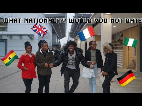 WHAT NATIONALITY WOULD YOU NOT DATE 🤷🏾♂️? (Part2)**Ft DEDDITV X GRACEASAMOAH