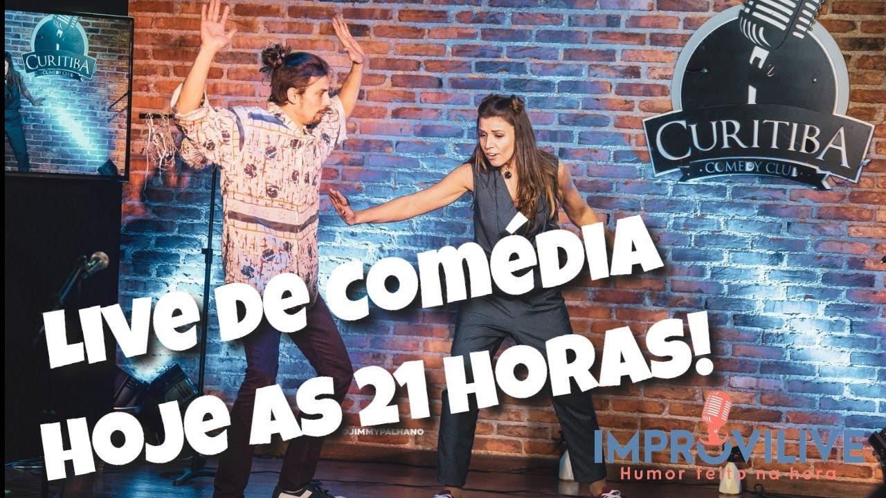 SHOW DE COMÉDIA ONLINE - Improvilive #13 - Jogos de Improviso