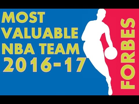 TOP 10 MOST VALUABLE NBA TEAM 2016 | Value| revenue| by FORBES Magazine