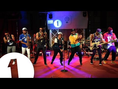 Bruno Mars - 24K Magic [Live BBC Radio1]