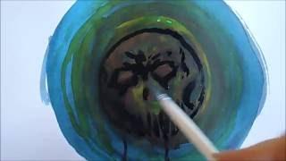 Spectrum Noir Watercolor Ink Test