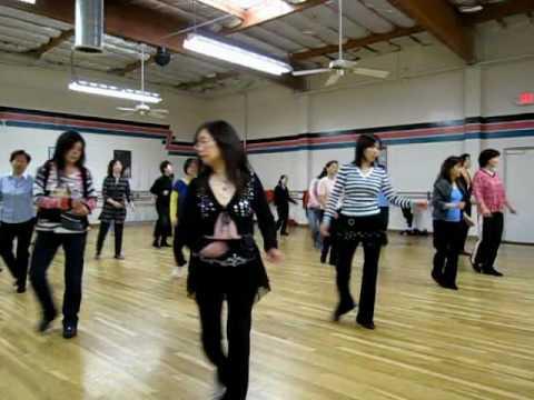 Angel Cha Line Dance (Demo & Walk Through)