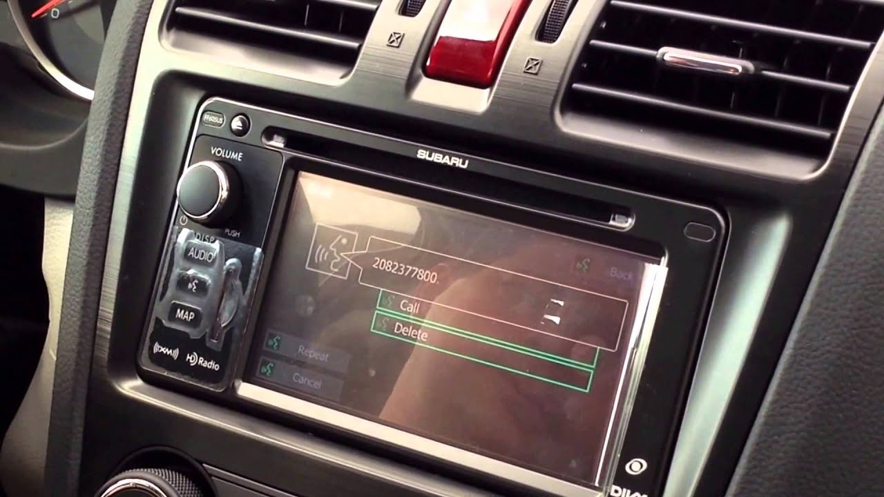 Phil Meador Toyota >> Making Hands Free Calls with your Subaru - YouTube