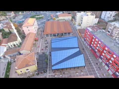 Tirana from a Drone point of view DJI Phantom 4