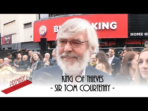 King of Thieves – World Premiere  Sir Tom Courtenay