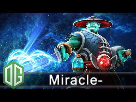 OG. Miracle- Storm Spirit Gameplay - Ranked Match - OG Dota 2