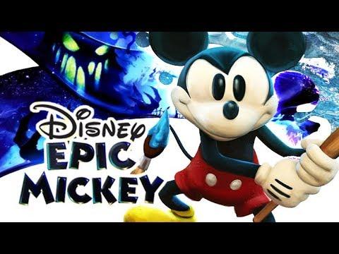 Disney Epic Mickey FULL GAME 100% Longplay (Wii) 🎨 Paint 🖌️