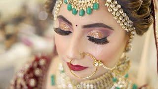 Bridal Makeup Video | FuzzyReels | Ekta Bakshi Makeovers.
