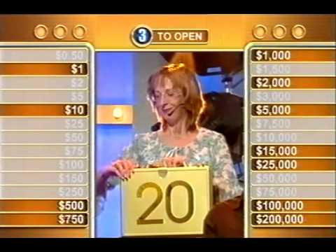 Deal Or No Deal (Australia) - Stuart gives the Banker the Stick (16 Feb 2004)
