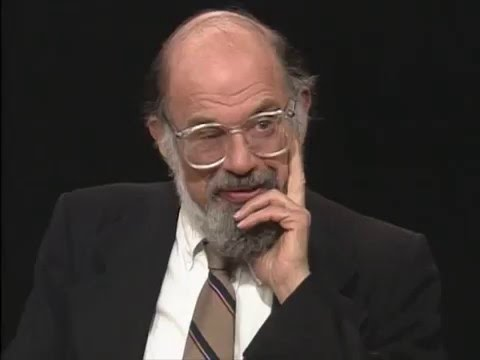 Allen Ginsberg reads two short Walt Whitman poems