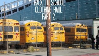 Back To School Clothing Haul 2014-15 (Part 2) Thumbnail
