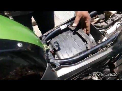 Fz-16 Air filter change