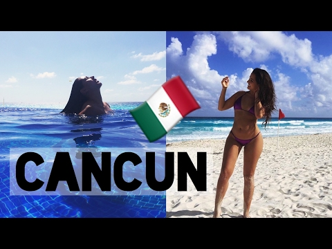 Escaping Winter in Cancun! Travel Vlog 2017 | Isabel Palacios
