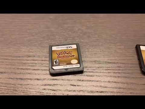 Authentic Vs Fake Pokémon HeartGold/SoulSilver Cartridges