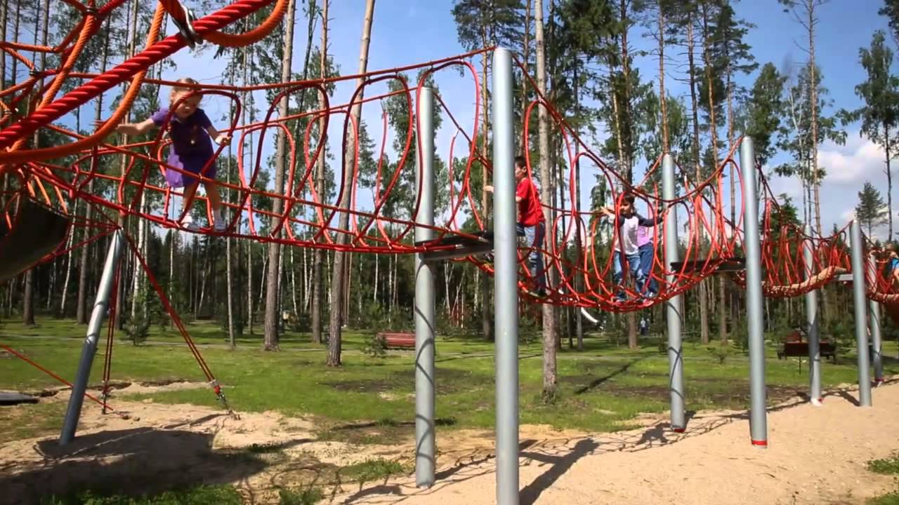 Санковское чудо видео в парке 12