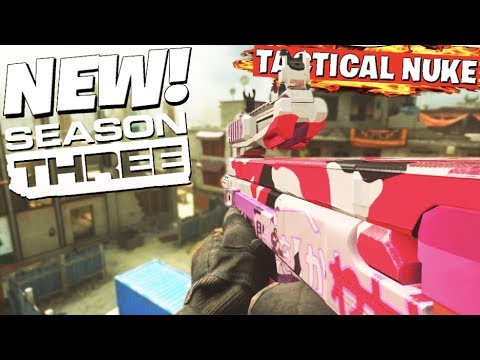 Modern Warfare SEASON 3! NEW MAPS ARE AMAZING 😍 (TACTICAL NUKE Gameplay)