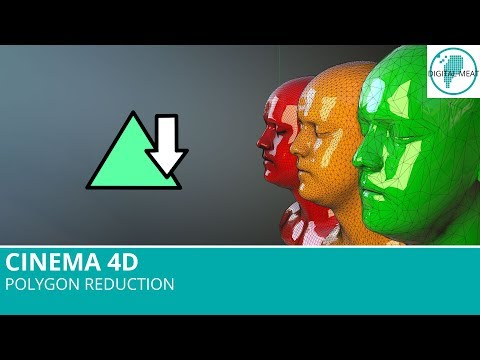 Cinema 4D R19: Polygon Reduction
