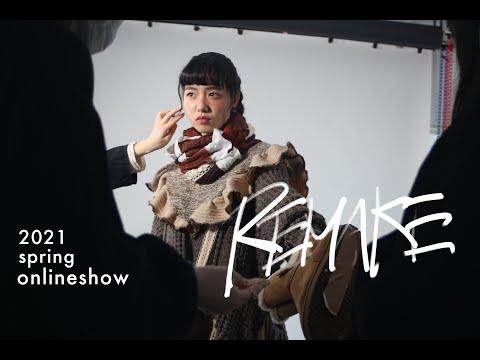 ファッションショー2021春 『REMAKE』の動画が公開されています