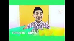 Darren Espanto with JayR LIVE in Saskatoon on July 3rd at the TCU PLace - Sid Buckwold Theater.