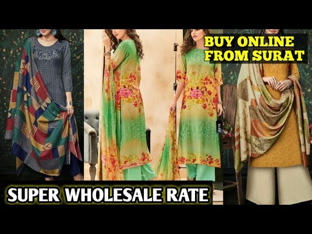 Surat dress materials wholesalers| surat dress market| surat dress materials online shopping