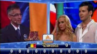 Baile inicial de Rumania: Laura Cosoi y Bogdan Boantá (Bailando por un Sueño 2CMB 09-05-10)