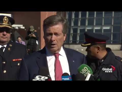 Toronto officials provide update on van attack