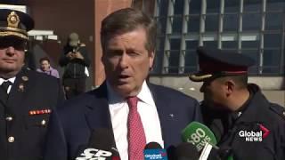 Toronto officials provide update on van attack
