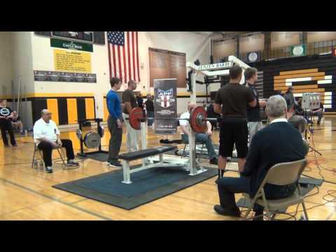 2014 APF AAPF Illinois State Powerlifting Platform 1 Bench Only