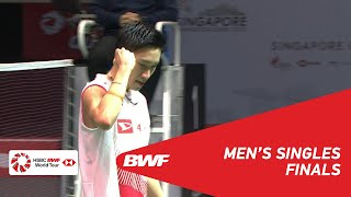 Download Video F | MS | Kento MOMOTA (JPN) [1] vs Anthony Sinisuka GINTING (INA) [7] | BWF 2019 MP3 3GP MP4