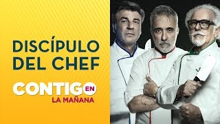 Ennio, Sergi, Yann y Emilia revelaron detalles de El Discípulo del Chef - Contigo en La Mañana