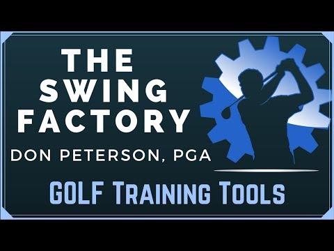 Golf Training Tools At The Swing Factory Golf Studio