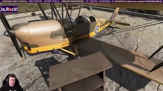 Zatankowałem ale BAK PUSTY - Plane Mechanic Simulator / 10.03.2019 (#2)