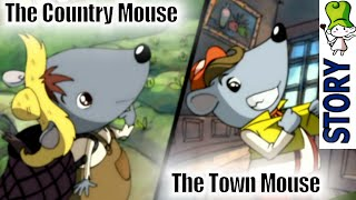 The Town Mouse And The Country Mouse - Bedtime Story Animation | Best Children Classics Hd
