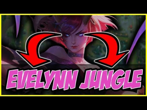 Evelynn Jungle vs Rengar (Hard Match up) Commentary - League of Legends