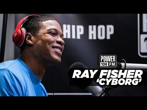 Ray Fisher 'Cyborg' Talks Justice League Details, Auditioning, And More!