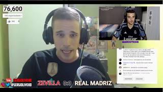 SEVILLA FC vs REAL MADRID || COMENTANDO EN DIRECTO
