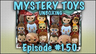 MYSTERY TOYS! Episode #150 - Unboxing Horror Figural Keychains Series 3