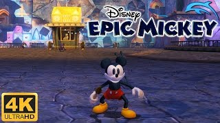 Disney Epic Mickey - Gameplay Wii 4K 2160p (Dolphin 5.0)