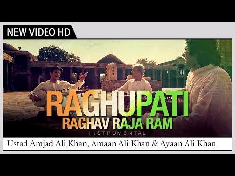 Raghupati Raghav Raja Ram | Instrumental | Ustad Amjad Ali Khan, Amaan Ali & Ayaan Ali Bangash