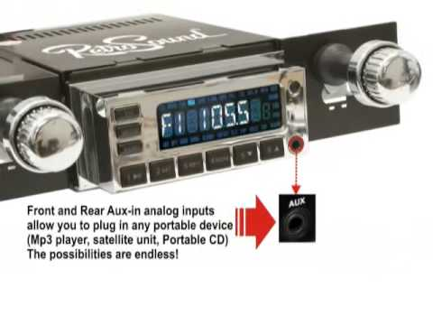 Retro Sound Model 1 Radio