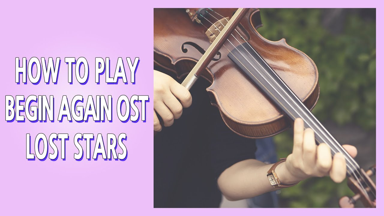 How to play LOST STARS | Begin again ost list | Piano Violin Cello cover | 영화 비긴어게인 Lost stars 웨딩BGM
