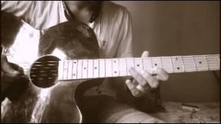 Guitar lesson of Dashain Mangal dhoon by Pratik