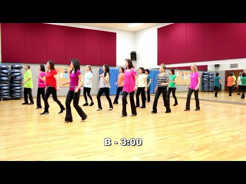 Diane - Line Dance (Dance & Teach In English & 中文)