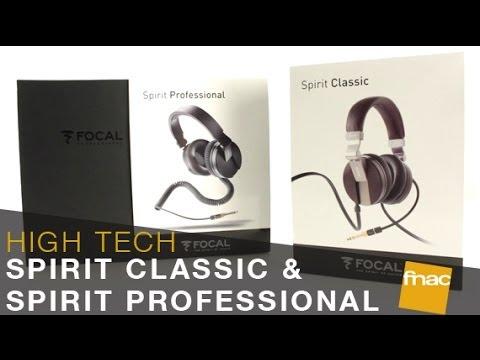 Casques Focal Spirit Classic Spirit Professional Les Conseils